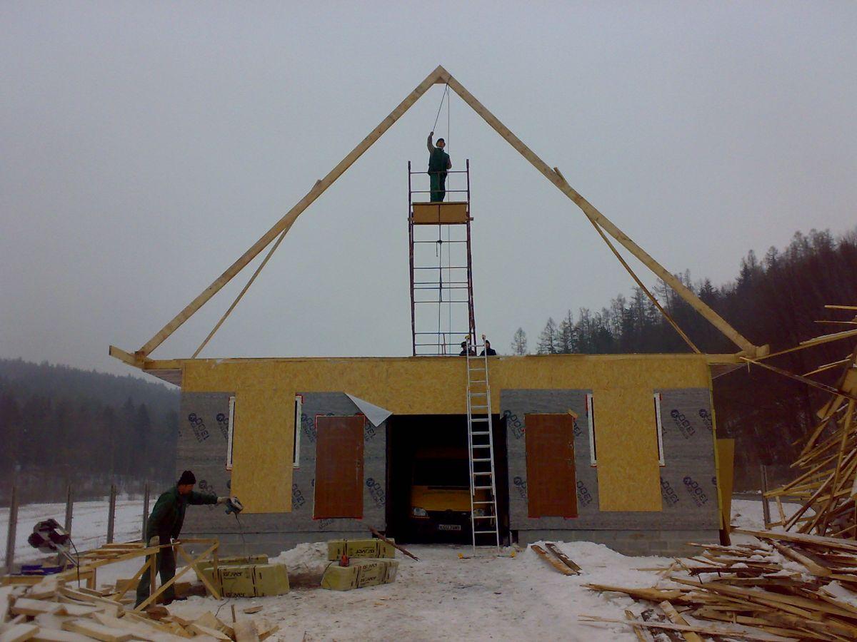 budowa domu szkieletowego 2